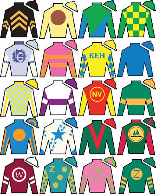 KENTUCKY DERBY JOCKEY SILKS