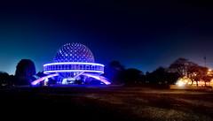 Planetario iluminado