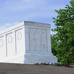 NW and up - detail - Tomb of the Unknown Soldier - Arlington National Cemetery - 2012