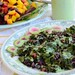 black rice chard salad