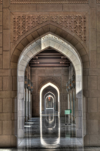 Sultan Qaboos Mosque, Oman