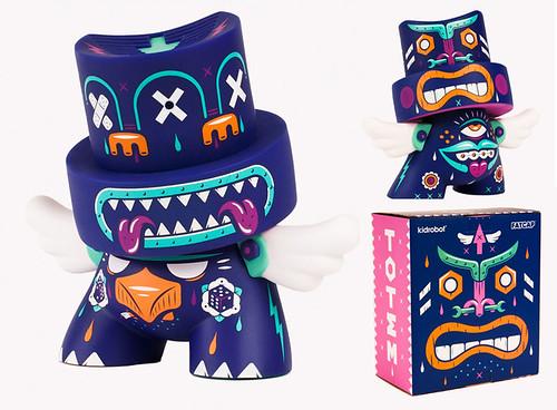 Custom painted /& designed Kidrobot Fatcap Rumps