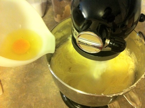 Add Eggs to Batter One at a Time