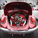 VW Beetle power - Red on red