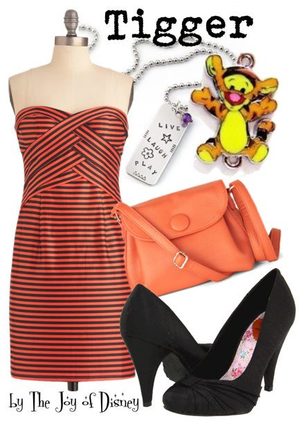Inspired by: Tigger (Winnie Pooh)
