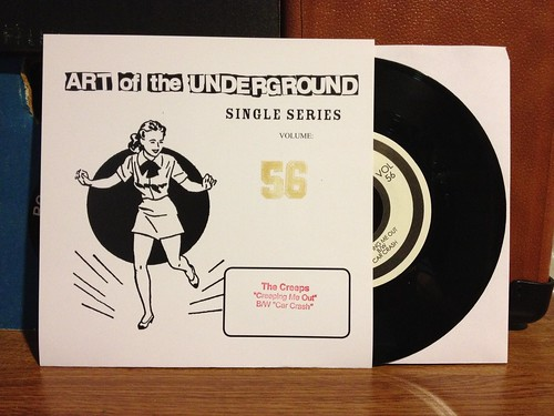 "The Creeps - Creeping Me Out 7"" by Tim PopKid"