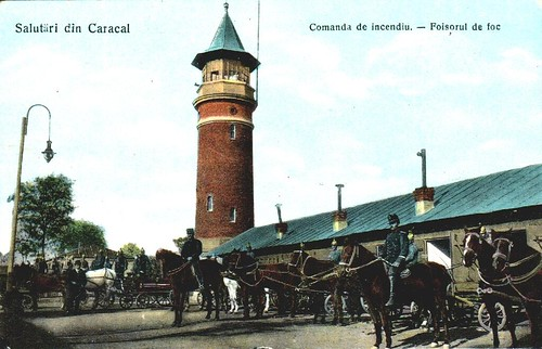 Foisorul de foc din Caracal