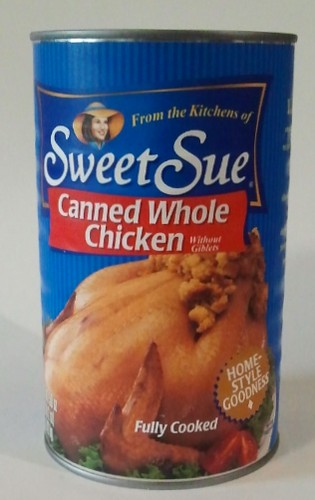 Canned Chicken And Cake Pop