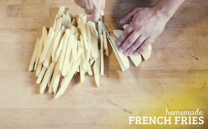 homemade french fries 1