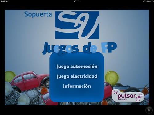 San Viator App para promocionar un centro escolar