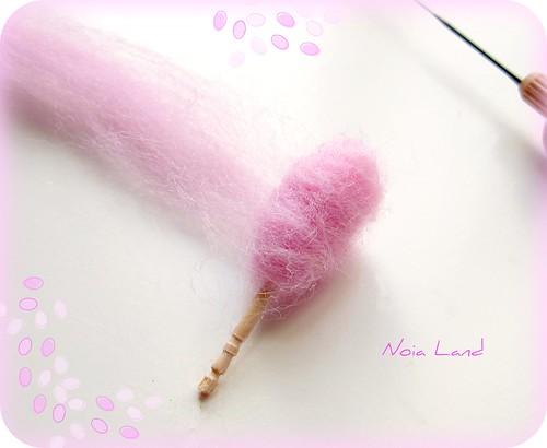 Tutorial: Algodón de Azúcar en miniatura5