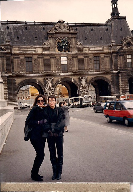 Kelly Jenkins and I in Paris