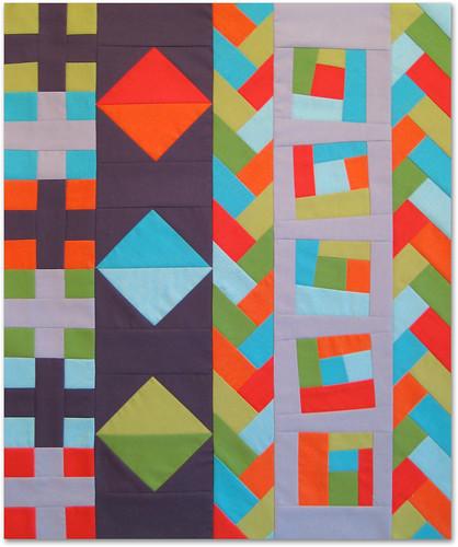 Portland Modern Quilt Guild - Michael Miller Cotton Couture Modern Block Challenge