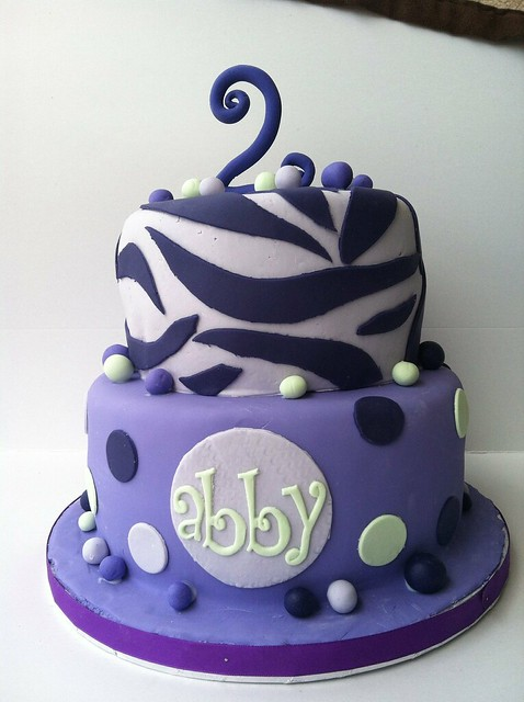 Purple Zebra Cake Design : Purple zebra cake thank you arteatsbakery.com for the cake ...