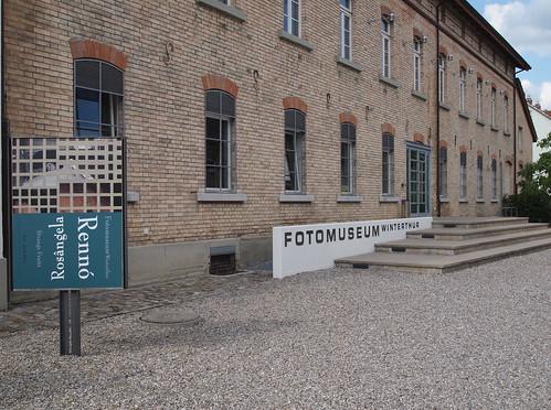 Aussenansicht des Fotomuseums Winterthur