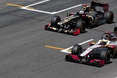 Pedro de la Rosa vs Kimi Räikkönen