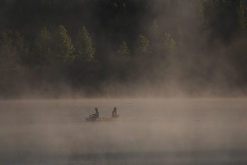 Misty Morning Fishing by Get The Flick