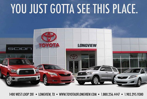 Toyota of Longview in Longview, TX.  You just gotta see this place