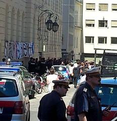 Blockade der Senatssitzung vom 14.6.2012