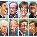 G8 Leaders May 13, 2012 - Caricatures