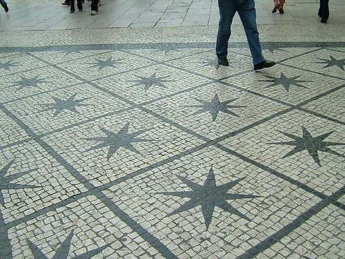 Walking on the star / Andando sobre as estrelas