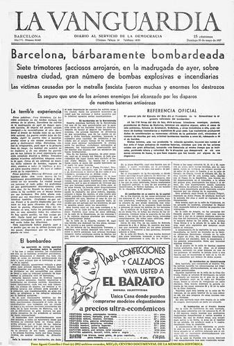 Barcelona, 30 de mayo de 1937, by Octavi Centelles