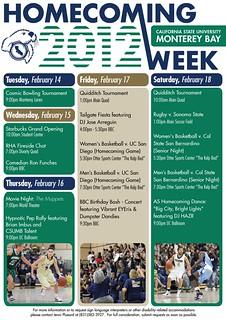 CSUMB Homecoming Week 2012