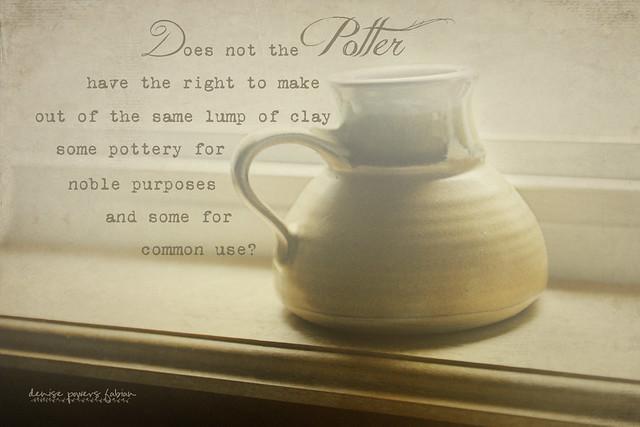 Romans 9:21