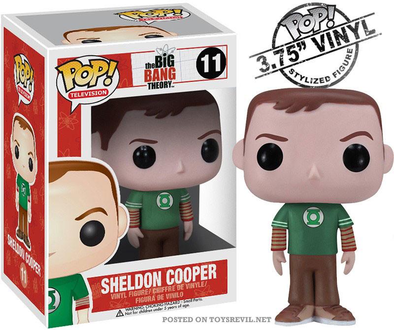 Pop Vinyls Sheldon From Big Bang Theory Alancarlos From
