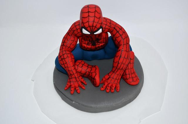 spiderman edible cake topper | spiderman edible cake ...