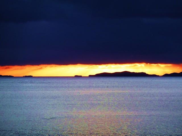 Sunset over Loch Broom