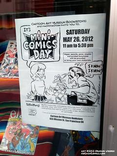 Mini-Comic Day 2012 poster