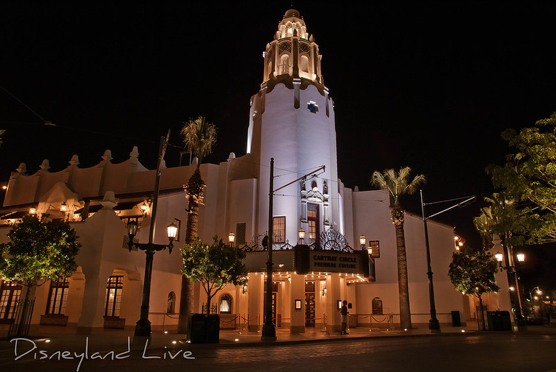 Carthay Circle Theatre, Disney California Adventure