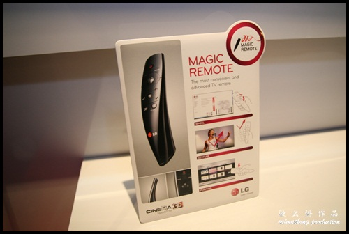 LG CINEMA 3D Smart TV - Magic Remote