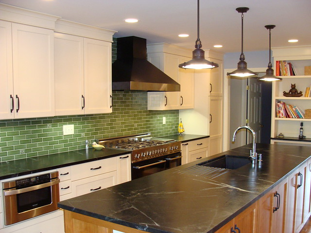 Show Me Your Green Backsplash