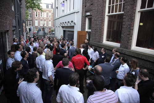 Networking in Amsterdam, Netherlands