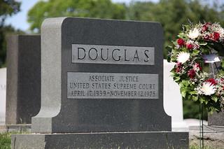 Image of William O. Douglas. washingtondc headstone arlingtonnationalcemetery williamodouglas