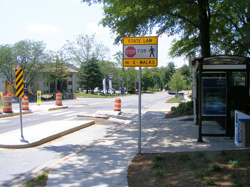 Bus Stop and Bump-Outs, Castle Boulevard