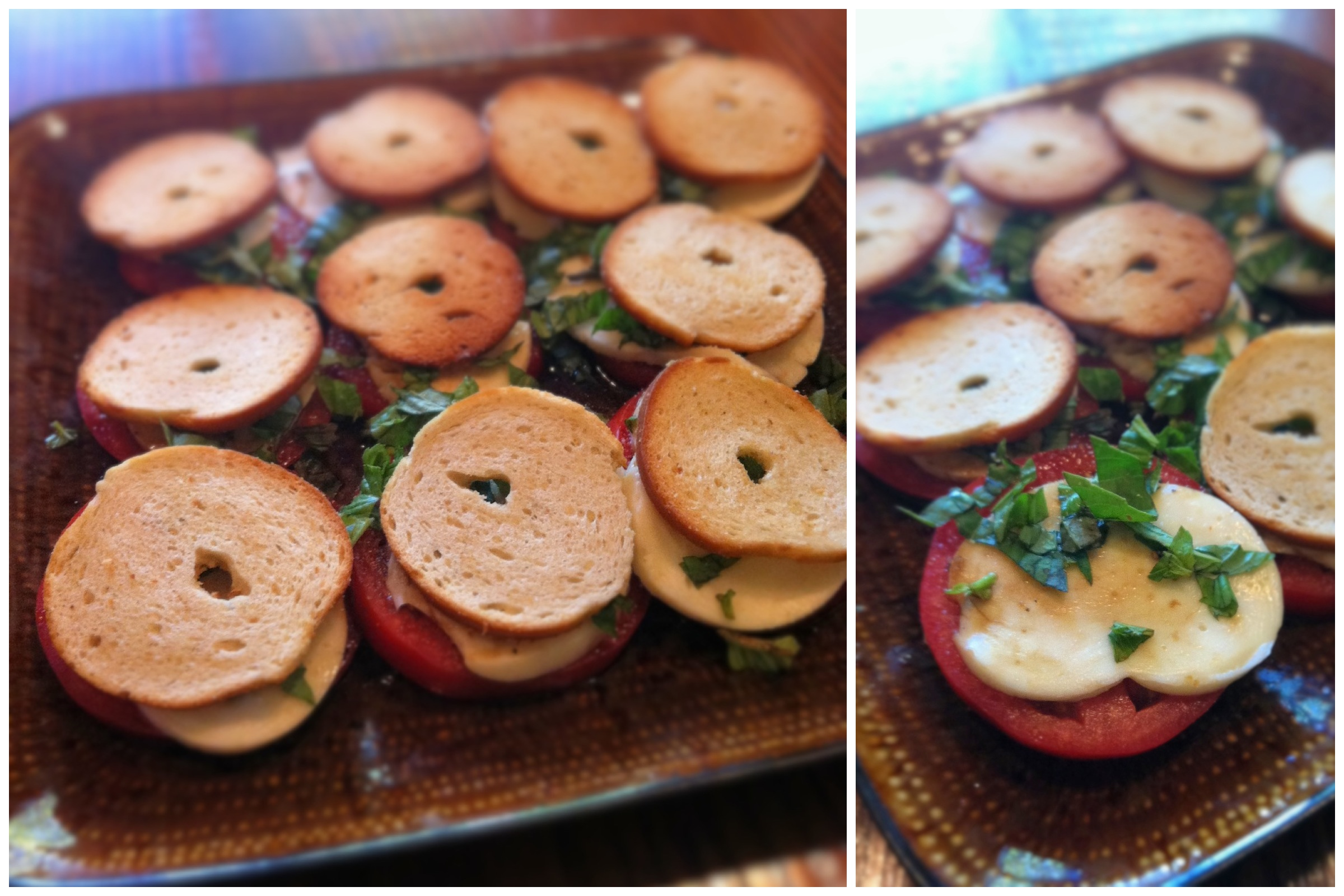 Made #bruschetta with Sea Salt Bagel Chips tonight. Put them on top so they wouldn't get soggy! It was YUM-O!!