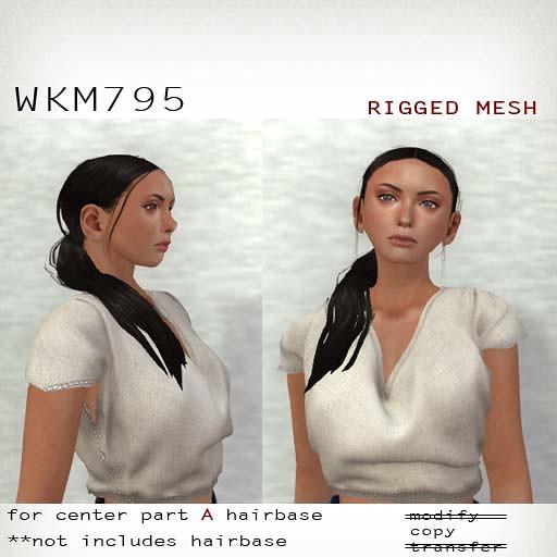 booN WKM795 hair