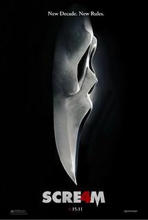 2012最佳恐怖電影海報 - Scream 4 (驚聲尖叫4)