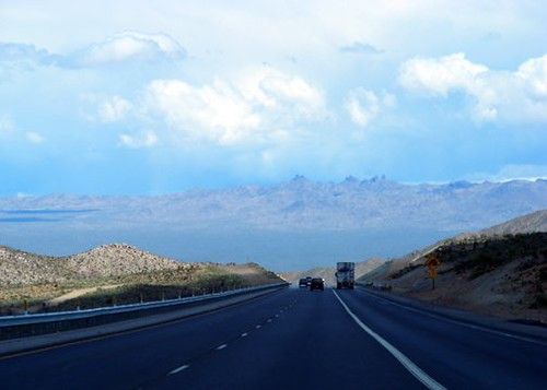 Driving from California to Las Vegas. by BuzzFarmers