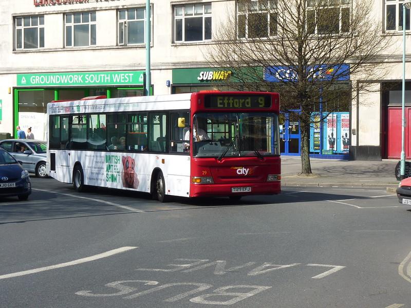 Plymouth Citybus 29 T129EFJ