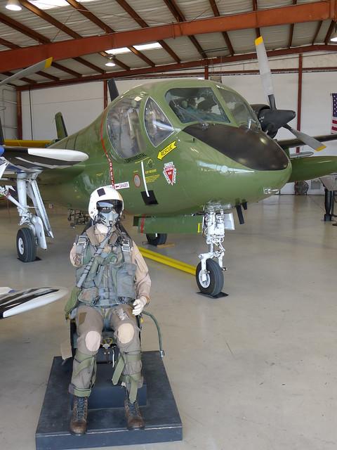 Schleudersitz: Grumman OV-1D Mohawk