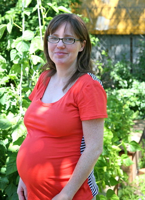Ruched Maternity Tee