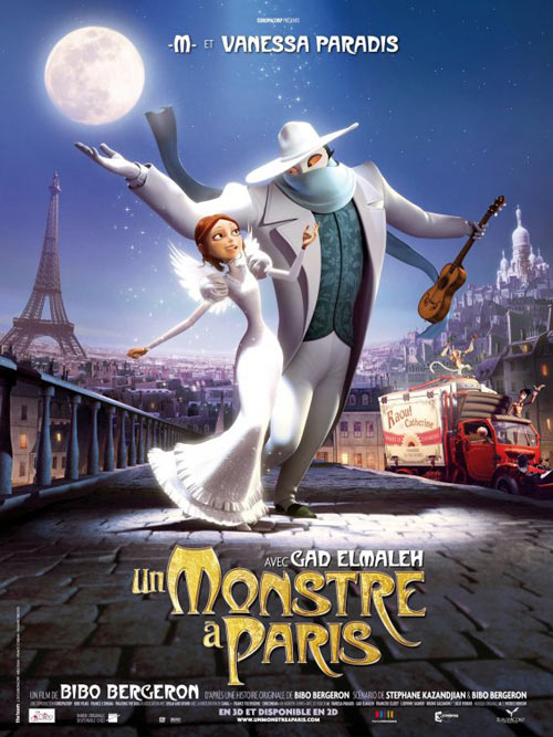 A Monster in Paris (Un monstre à Paris) (Quái Vật Ở Paris) (2011) [Phim]