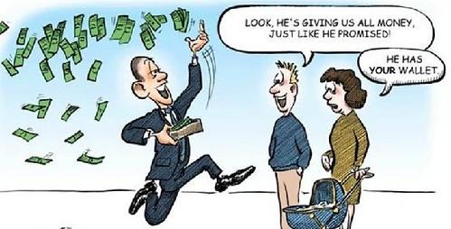 Obama Money Mad