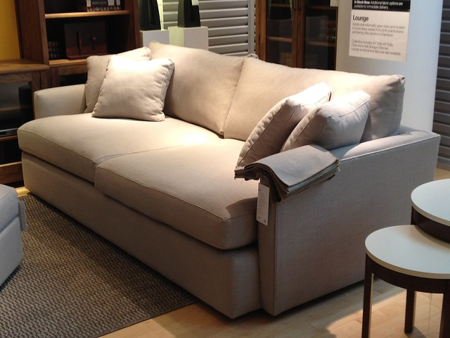 Gentil ... Lounge Sofa From Crate U0026 Barrel! Photo