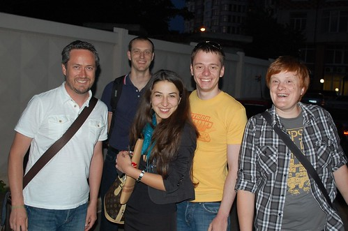 Left To Right, Jay, Sergei, Irene, Alexey, Sergei