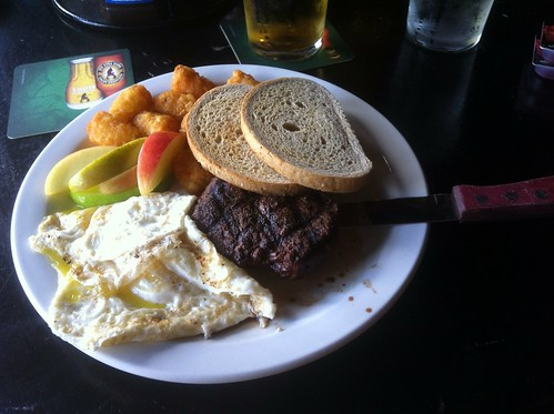 Steak and Eggs by raise my voice